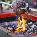 Hub rotisserie meat