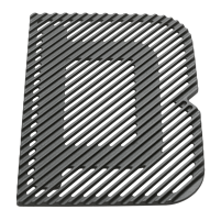 Force grill plate top down
