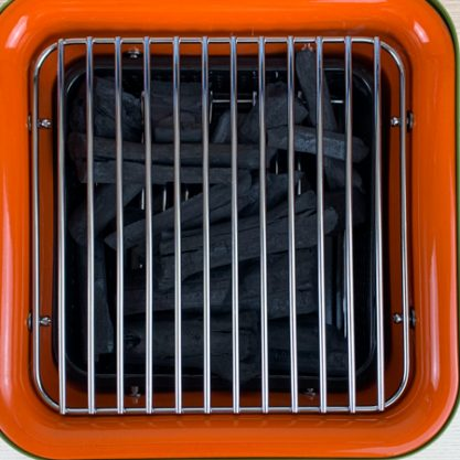 Cube top down grills